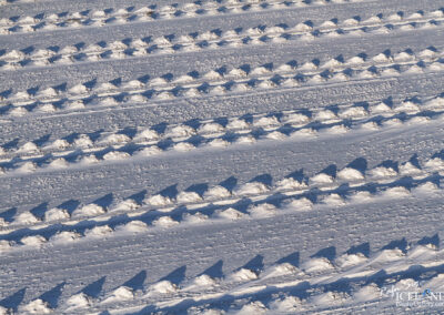 Patterns in the snow │ Iceland Landscape from Air