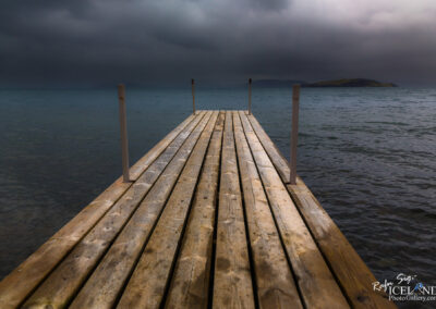 Pier at Þingvellir Lake - South │ Iceland Landscape Photogr