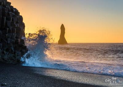 Reynisdrangar basalt sea stacks - South │ Iceland Landscape Ph
