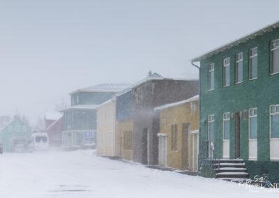 Sauðárkrókur town – North │ Iceland City Photography
