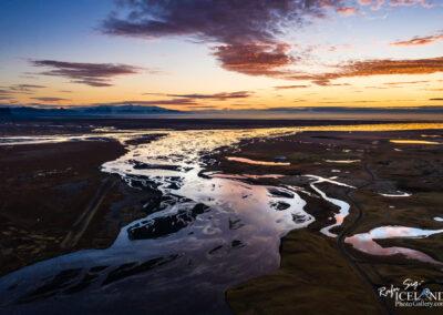 Skaftá River - South │ Iceland Landscape from Air