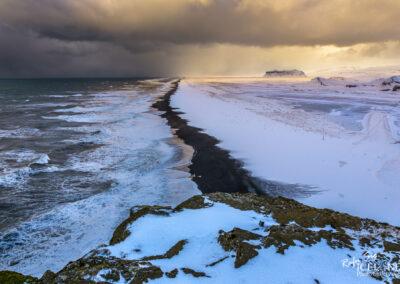 Skiphólar Black beach - South │ Iceland Landscape Photography
