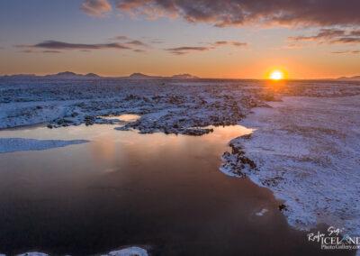 Snorrastaðatjarnir lakes - South West │ Iceland Landscape Photo