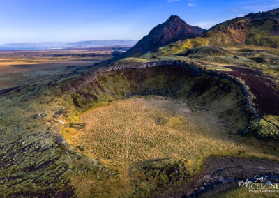 Sogasels ruins in the Sogasels Crater - South West │ Iceland L