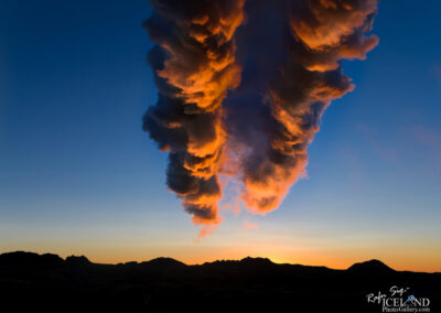 Steam from geothermal power plant - South West │ Iceland Lands