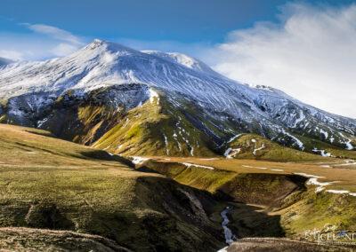 Stórhöfði Mountain at Fjallabak Nyrðri Highlands │ Iceland
