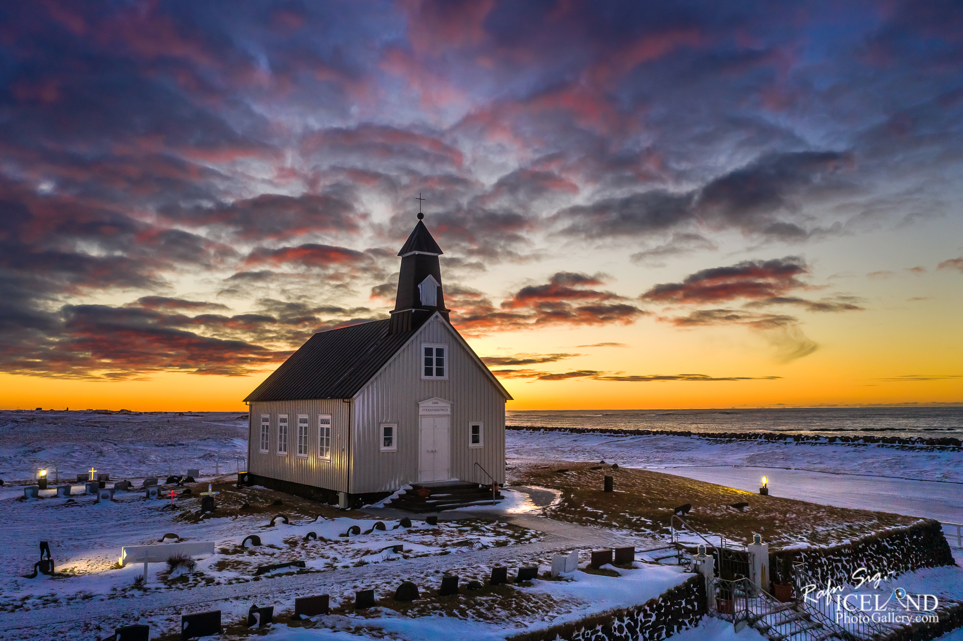 Strandarkirkja church in Selvogur - South West │ Iceland City