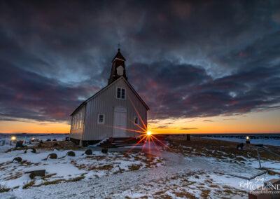 Strandarkirkja church in Selvogur - South West │ Iceland City