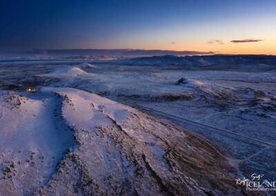 Sundhnúkagígar Crater row Volcanos - South West │ Iceland L