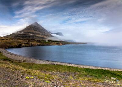 Teigarhorn farm with the Mountain Búlandstindur – Eastfjords