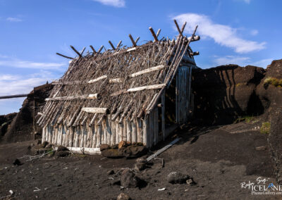 The remaining's of the Icelandic film set Beowulf & Grendel (B