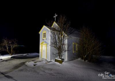 Tjarnarkirkja in Svarfaðardal – North │ Iceland City Photog