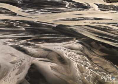 Tungná river patterns│ Iceland Landscape from Air