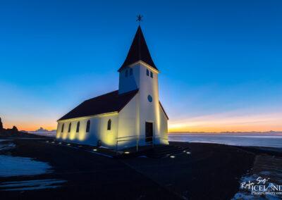 Vik church - South │ Iceland City Photography