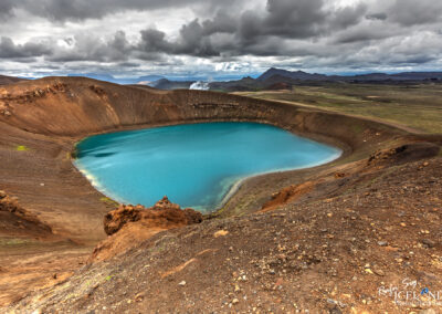 Víti, explosion crater at Mývatn – North │ Iceland Landsca
