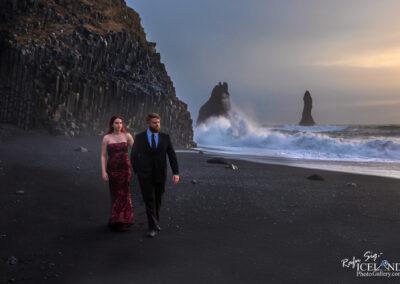 Wedding at Reynisfjara Black Beach - South │ Iceland Landsca