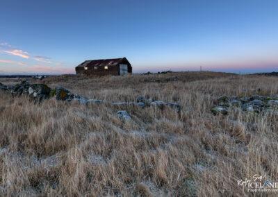 Lonely fishing hut in Nausthólsvík │ Iceland Landscape Photo