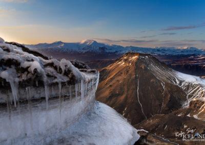 Útigönguhöfði Mountain in Þórsmörk - Highlands │ Icelan