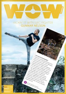 Article about me in the newest edition of WOW Air Magazine