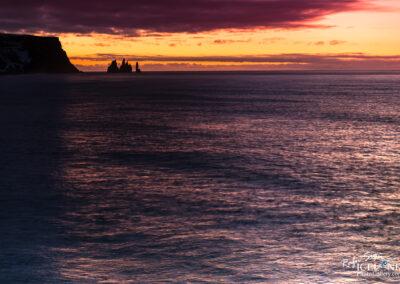 Reynisdrangar are basalt sea stacks - South │ Iceland Landscap