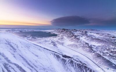 Kleifarvatn, Hellutindar and Vatnshlíð at Reykjanes │ Icelan