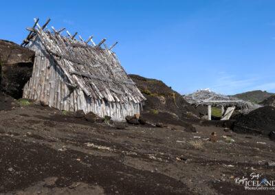 "Remaining's of an Icelandic film set ""Beowulf & Grendel"" (Bjólfskviða) at Kerlingardalsheiði"