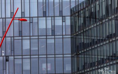 Iceland │ The Red Street light │ Reykjavík