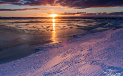 Hlíðarvatn in Ice and snow │ Iceland Landscape Photography
