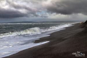 Black Beach at Óseyrartangi – Iceland Landscape Photography