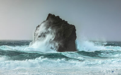 """Karl"" The Rock in Kirkjuvogsbás. │ Iceland Landscape Photo"