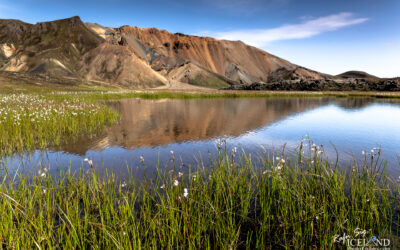 Landmannalaugar Geothermal Highlands are │ Iceland Landscape P