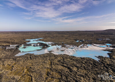 Blue Lagoon Spa │ Iceland Landscape from Air