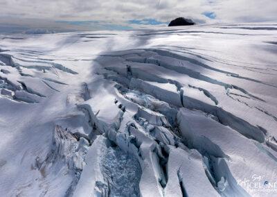 Breiðamerkurjökull Glacier │ Iceland Landscape from Air