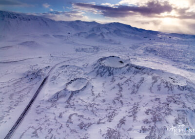 Craters in the Bláfjöll Highlands │ Iceland Landscape From A