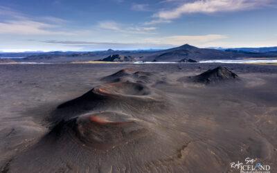 Creater in Fjallabak Nyrðri Highlands │ Iceland Landscape fro