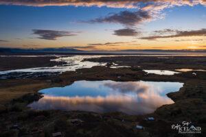 Hæðargarðsvatn Lake and Skaftá River – South – Iceland Landscape from Air