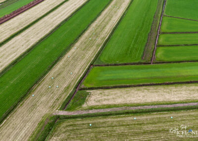 Medow Pattern │ Iceland Landscape from Air