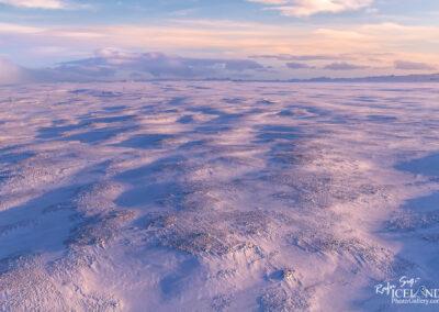 Miðdalsheiði ighlands│ Iceland Landscape from Air