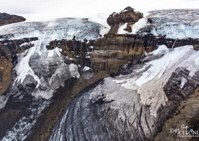 Morsárfoss in Morsájökull Glacier │ Iceland Landscape from
