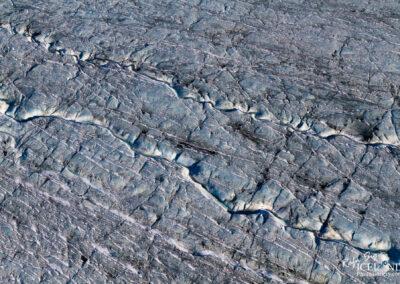 Patterns in Vatnajökull Glacier │ Iceland Landscape from Air