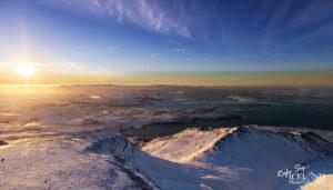 Reykjavík from Mountain Esja – Iceland Landscape Photography