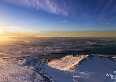 Reykjavík from Mountain Esja │ Iceland Landscape Photography