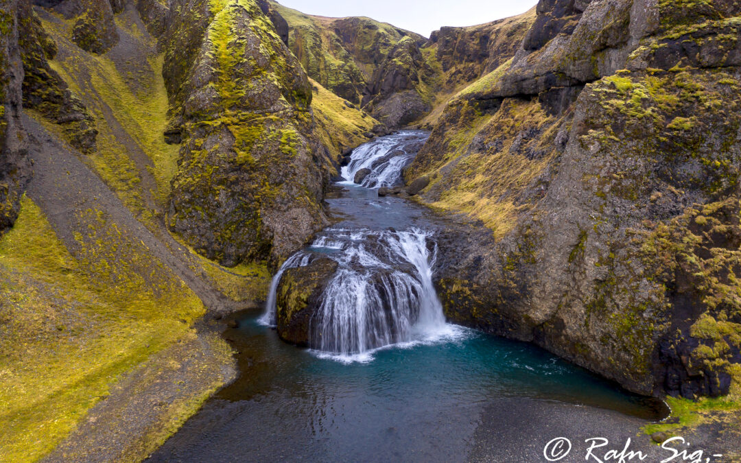 Stjórnarfoss waterfall – South – Iceland Landscape Photography