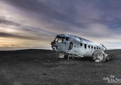 Aircraft wreck at Sólheimasandur - South │ Iceland Landscape
