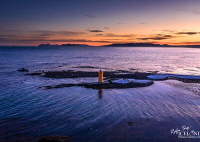 Atlagerðisvit lighthouse at Vatnsleysuströnd - South West │