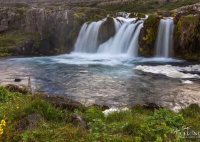 Bæjarfoss (Sjóarfoss) in the waterfalls - Westfjords │ Icela