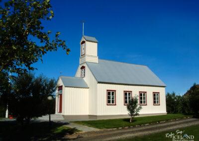 Borg á Mýrum Church - West │ Iceland City Photography