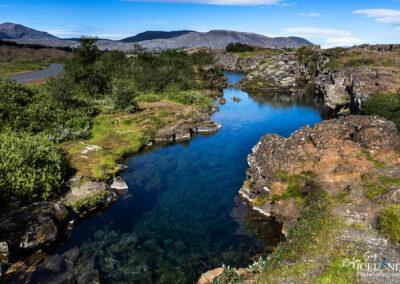 Brennugjá (riff) at Þingvellir - South │ Iceland Landscape P