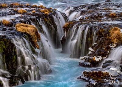 Brúarárfoss waterfall - South │ Iceland Landscape Photograph
