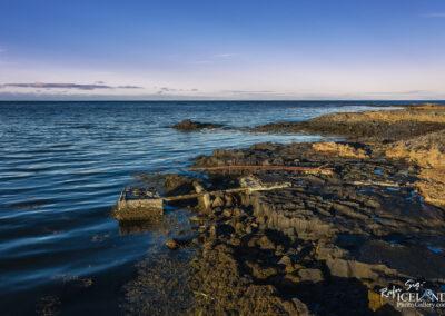 Bryggjan og sleðinn að Auðnum - Vatnsleysuströnd │ Iceland